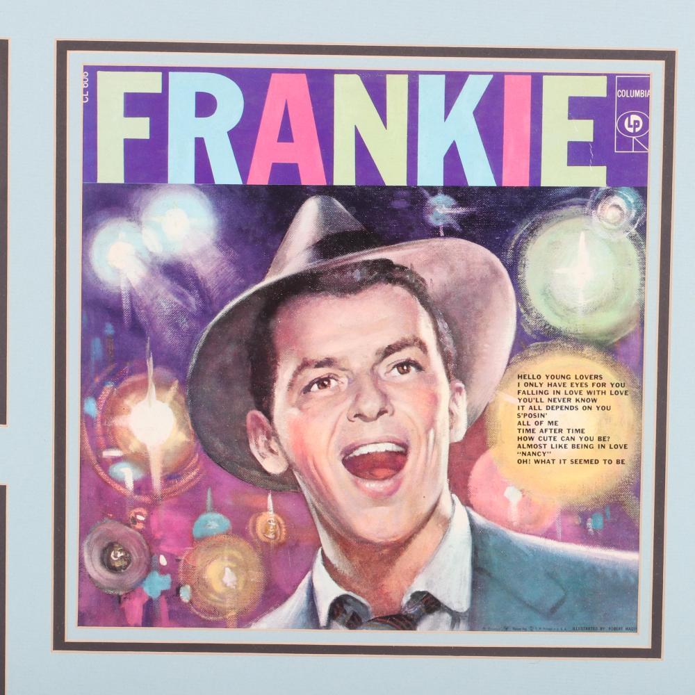 Frank Sinatra Autographed & Framed Collage