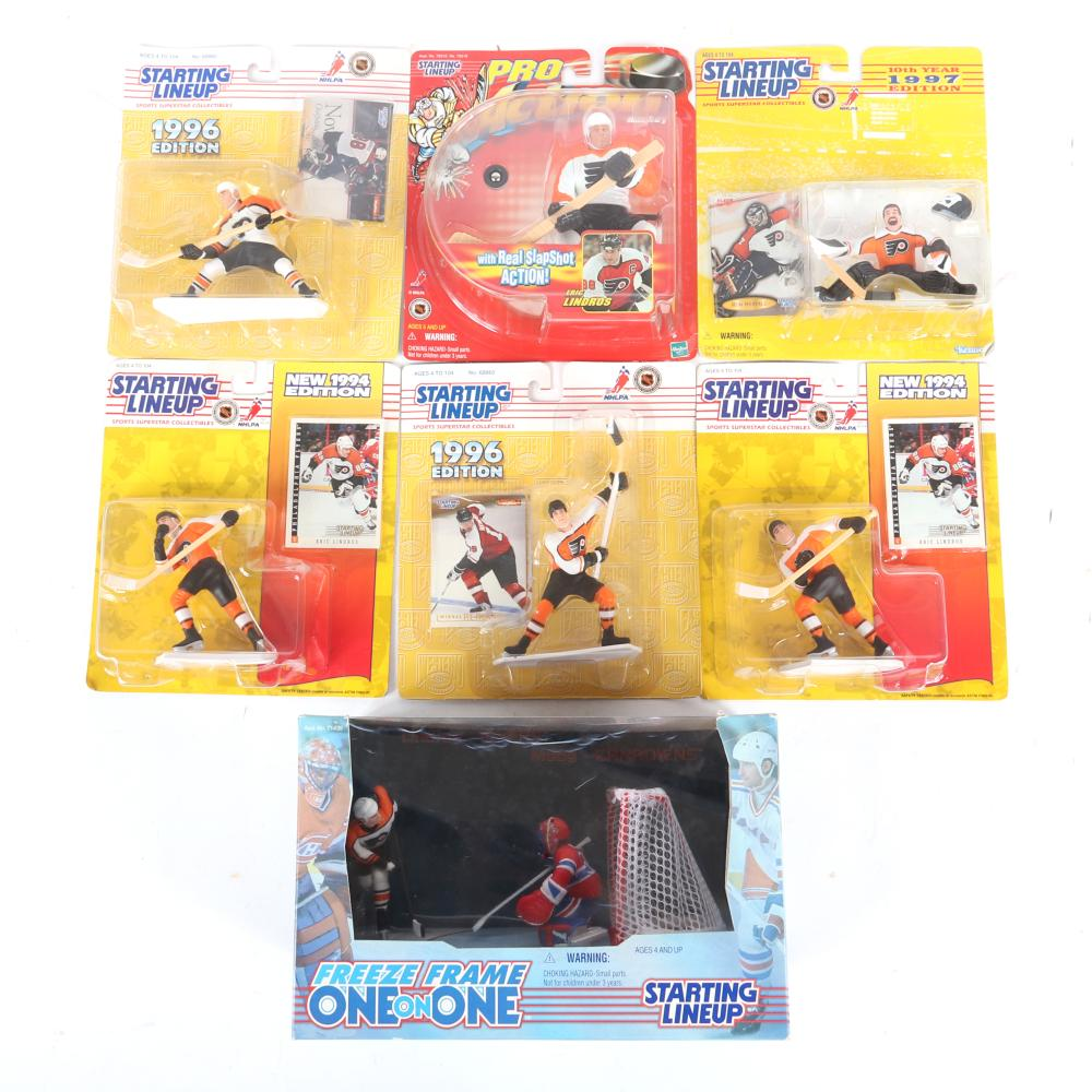 Lot of Hockey Starting Lineup Figurines In Package