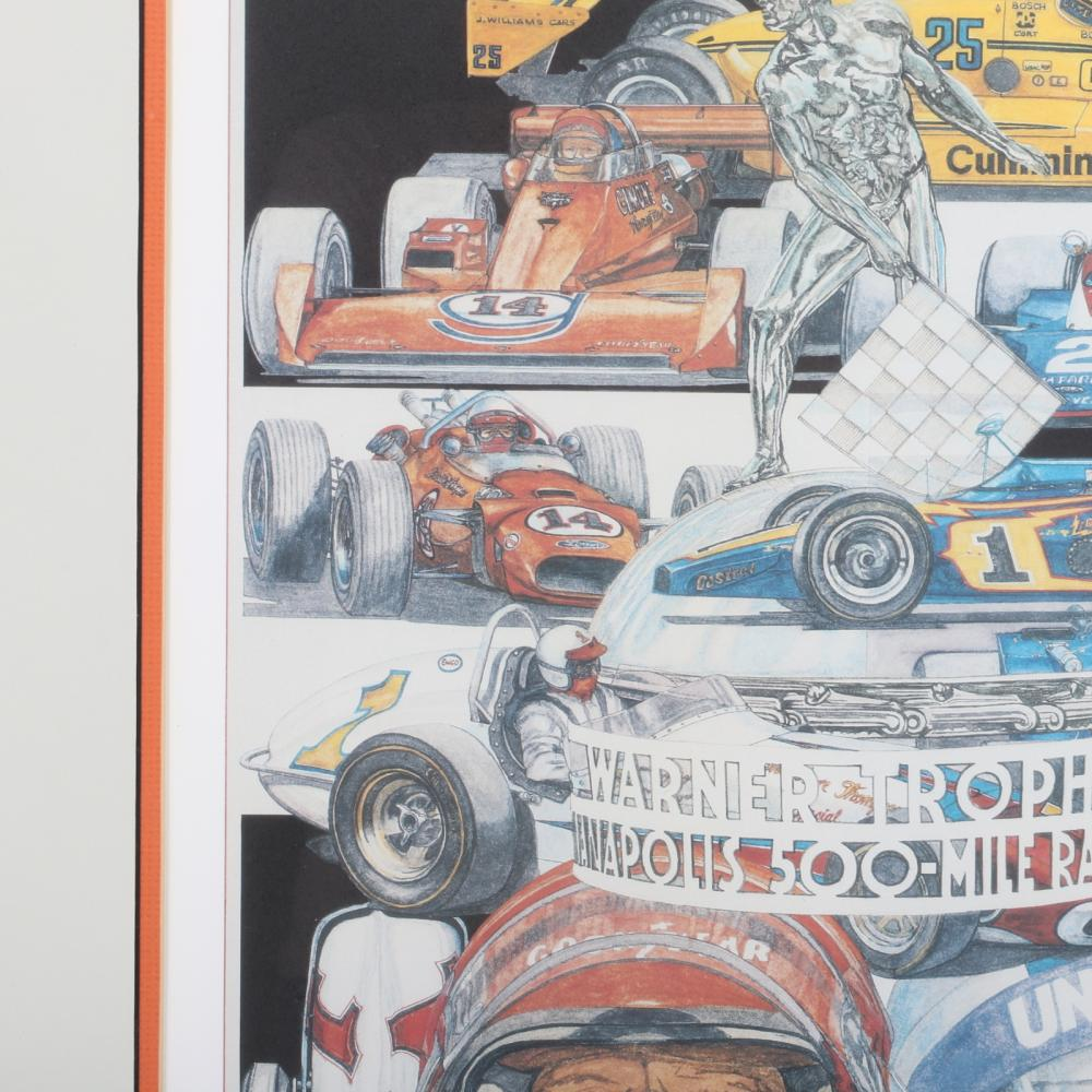 Indianapolis 500 limited edition print