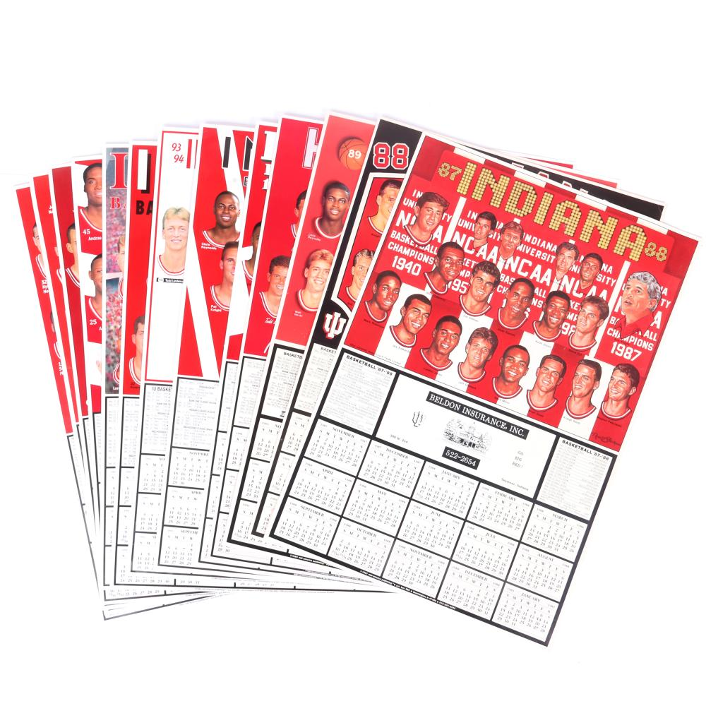 16 Indiana University Basketball Calendars