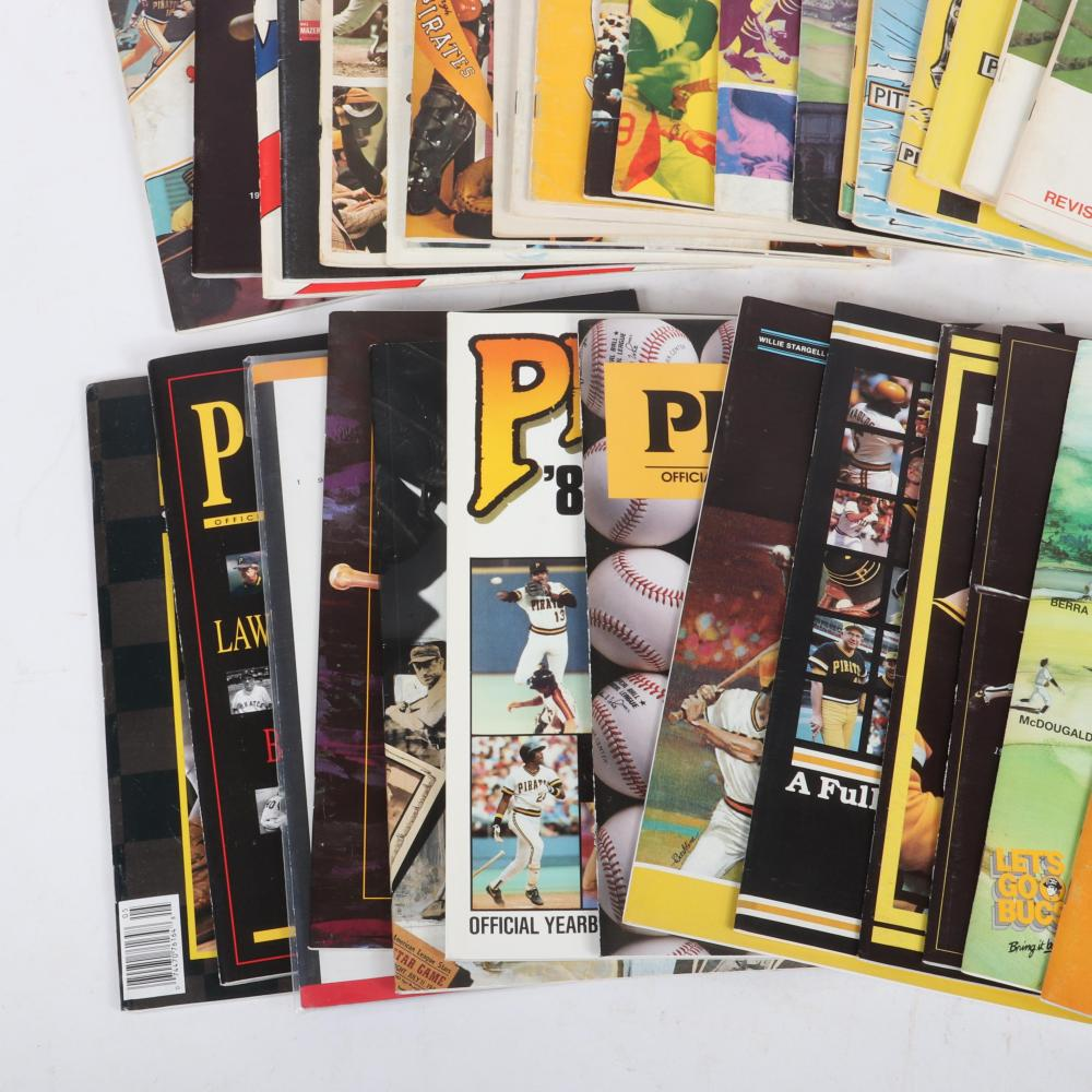34 Pittsburgh Pirates Yearbooks and Publications