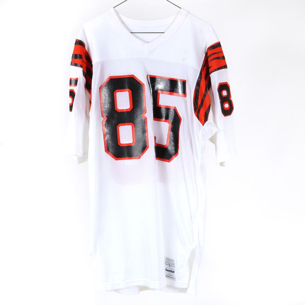 1970's Isaac Curtis Cincinnati Bengals Game Used Football Jersey