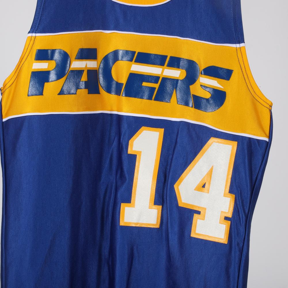 1986-87 Randy Wittman Game Used Indiana Pacers Road Jersey