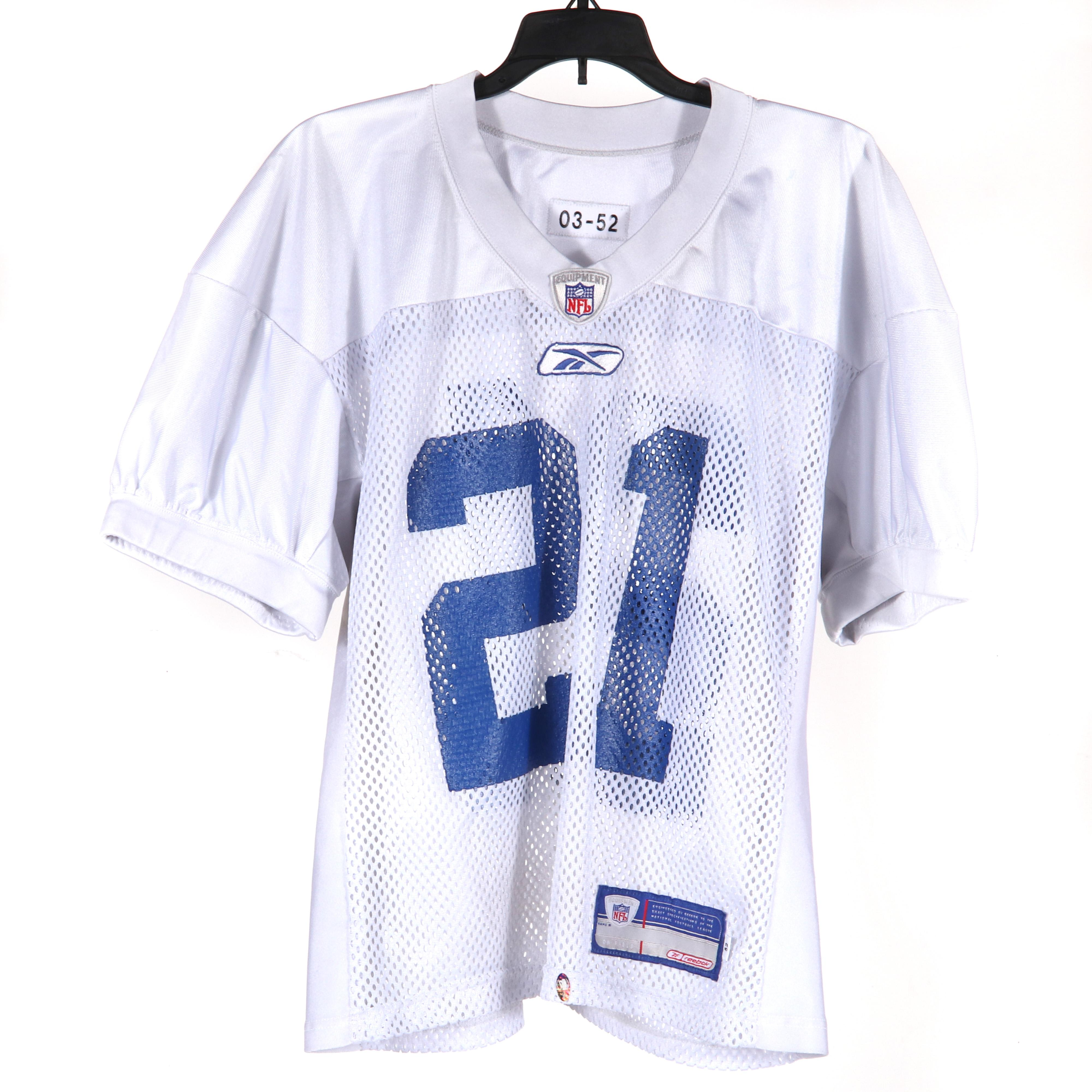 Bob Sanders Indianapolis Colts Practice Worn Jersey