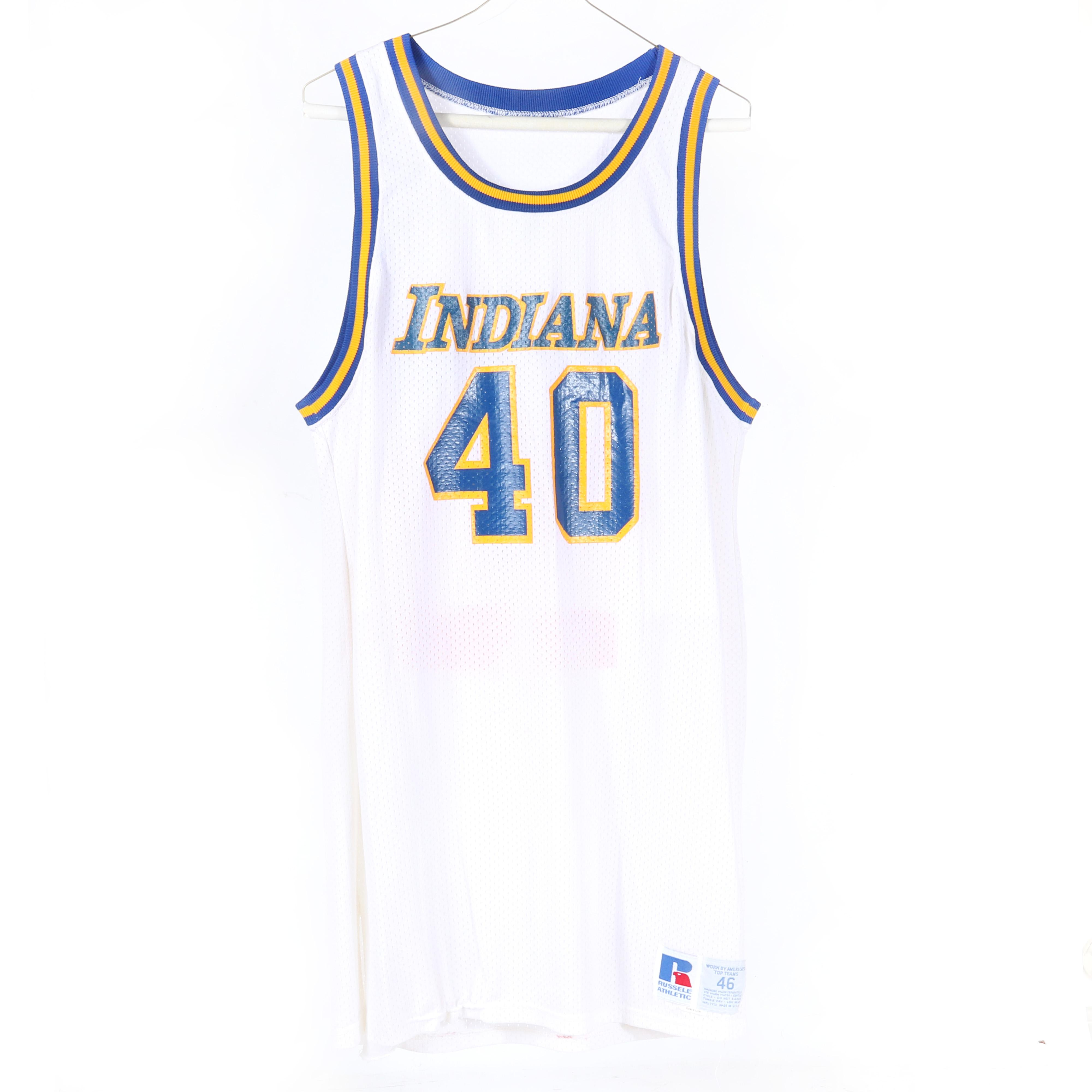 1983-84 Steve Stipanovich Indiana Pacers Game Used Home Jersey