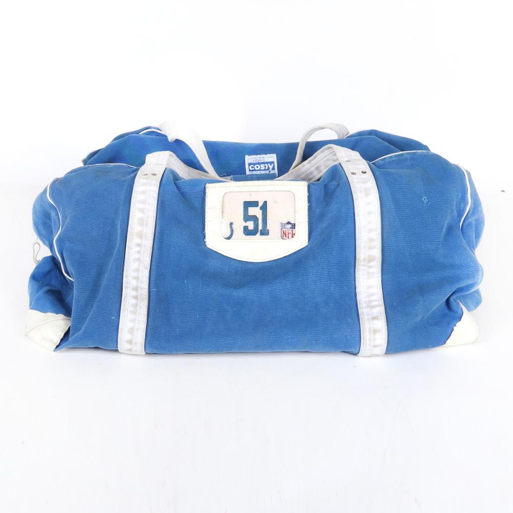Gilbert Gardner Indianapolis Colts Super Bowl XLI Game Used Equipment Bag