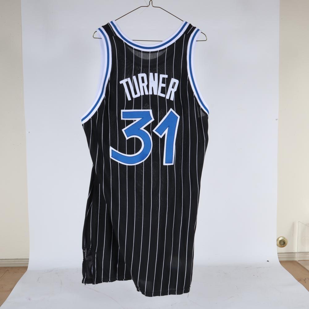 1990 Jeff Turner Orlando Magic Game Used Basketball Jersey