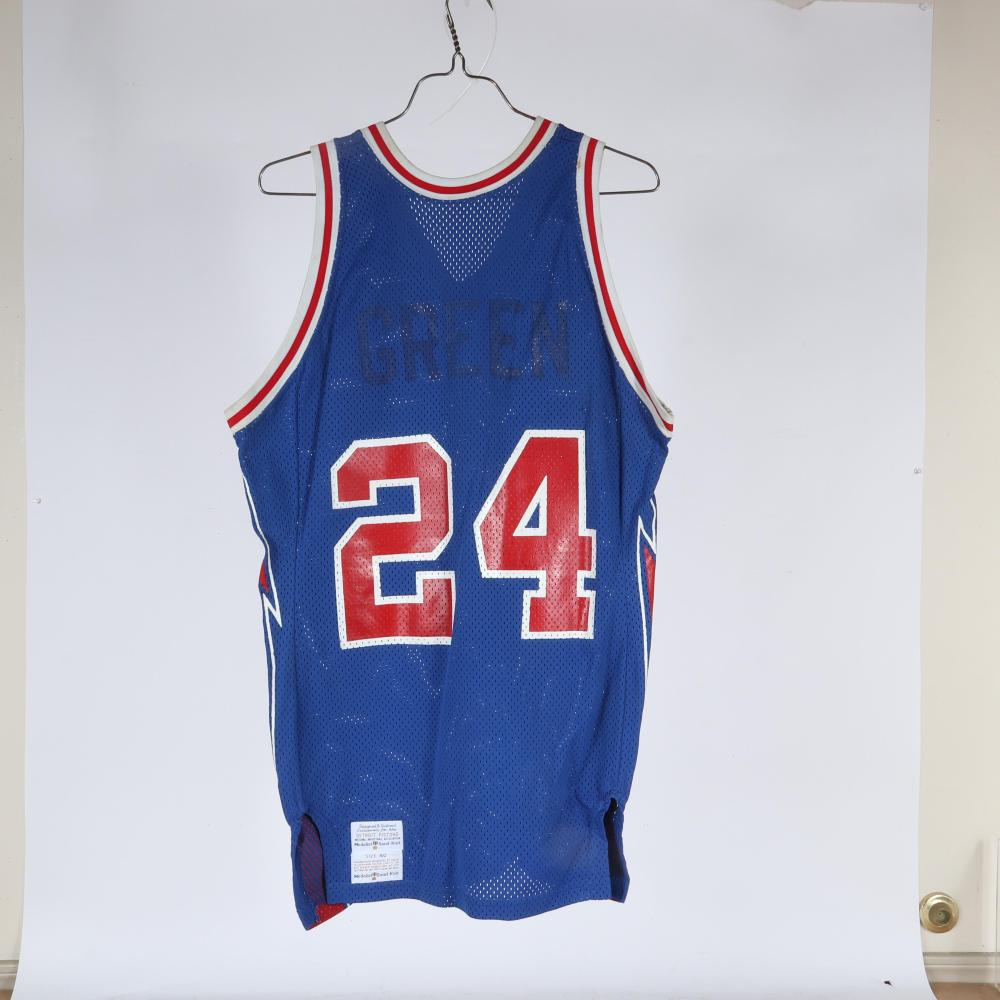 1978-79 Rickey Green Detroit Pistons Game Used Jersey