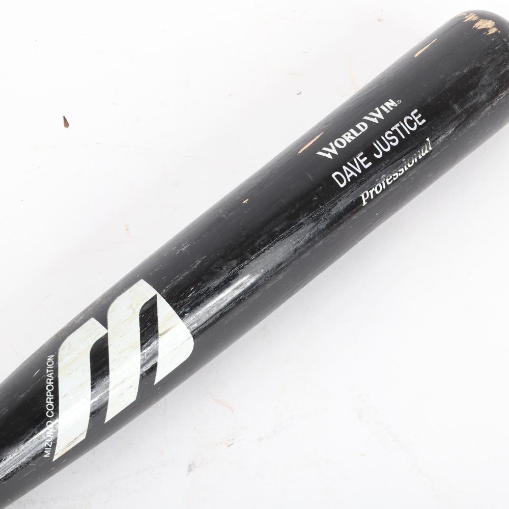 David Justice Game Used Bat