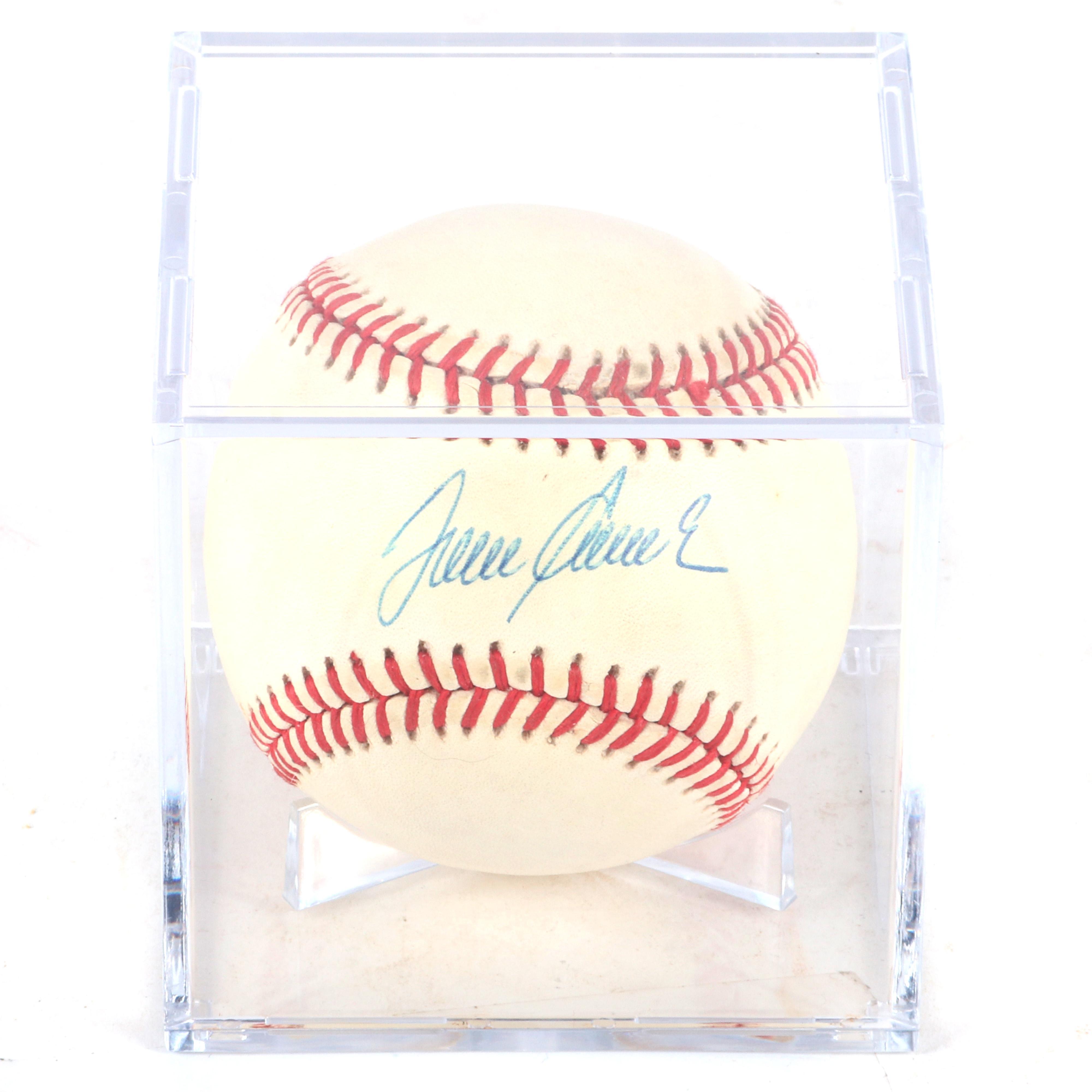 Tom Seaver Autographed Baseball