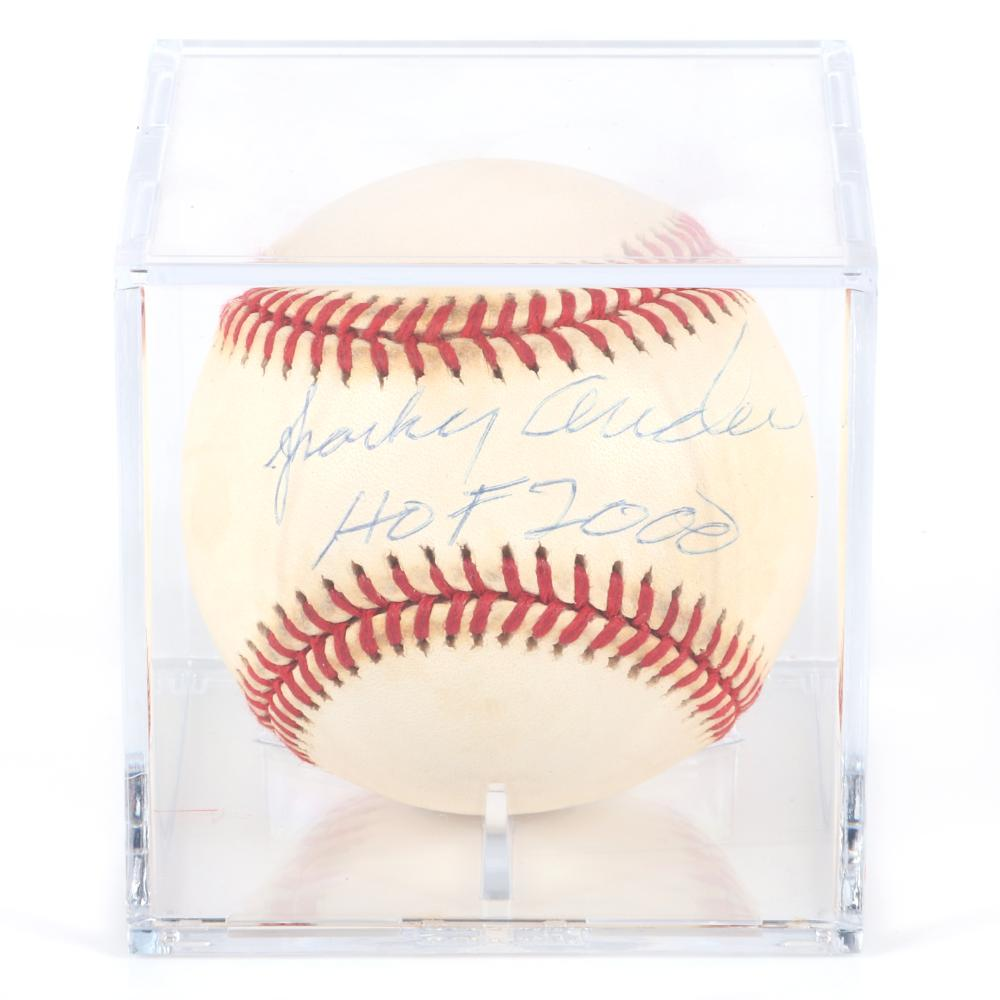 Sparky Anderson Autographed Baseball