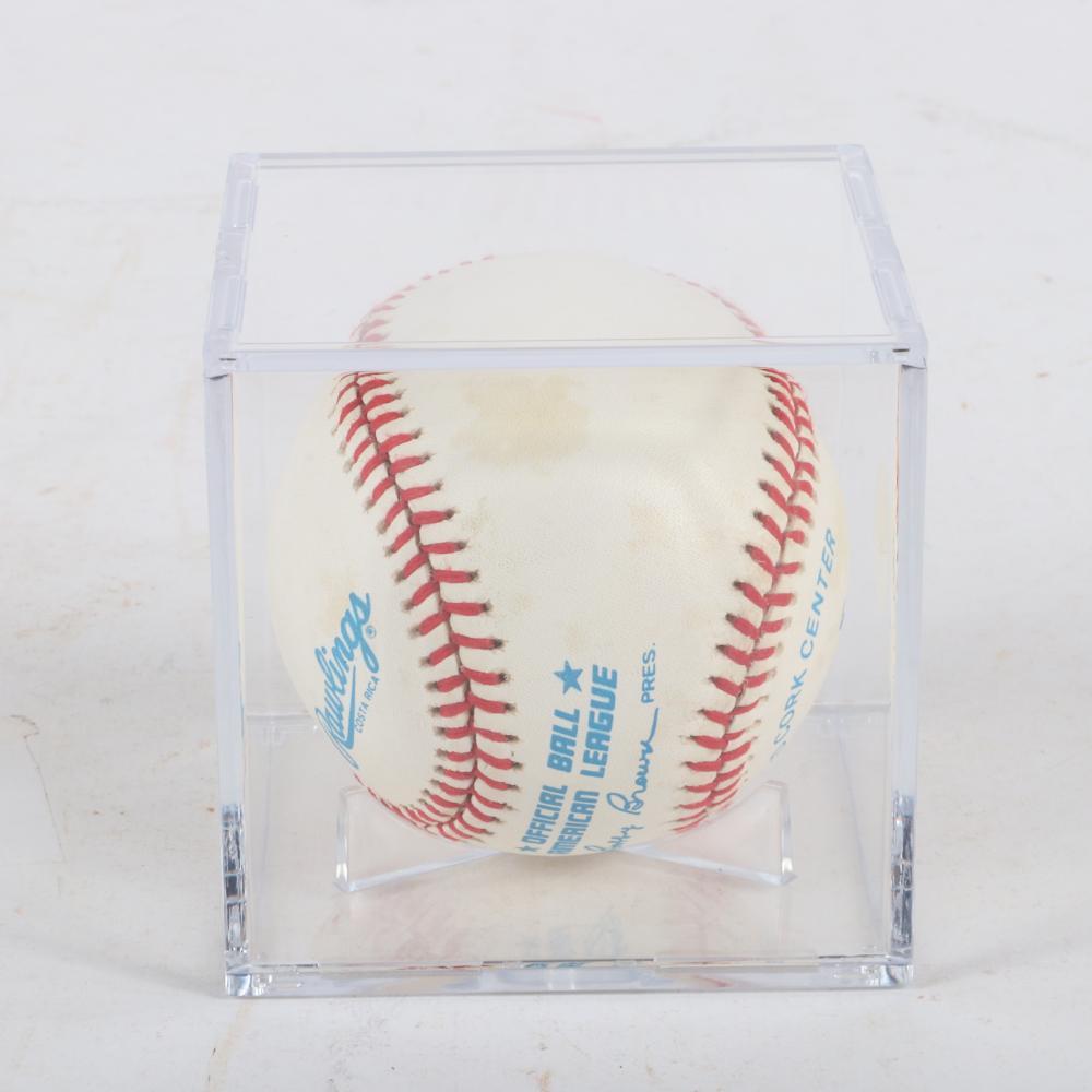 Nolan Ryan Autographed Baseball