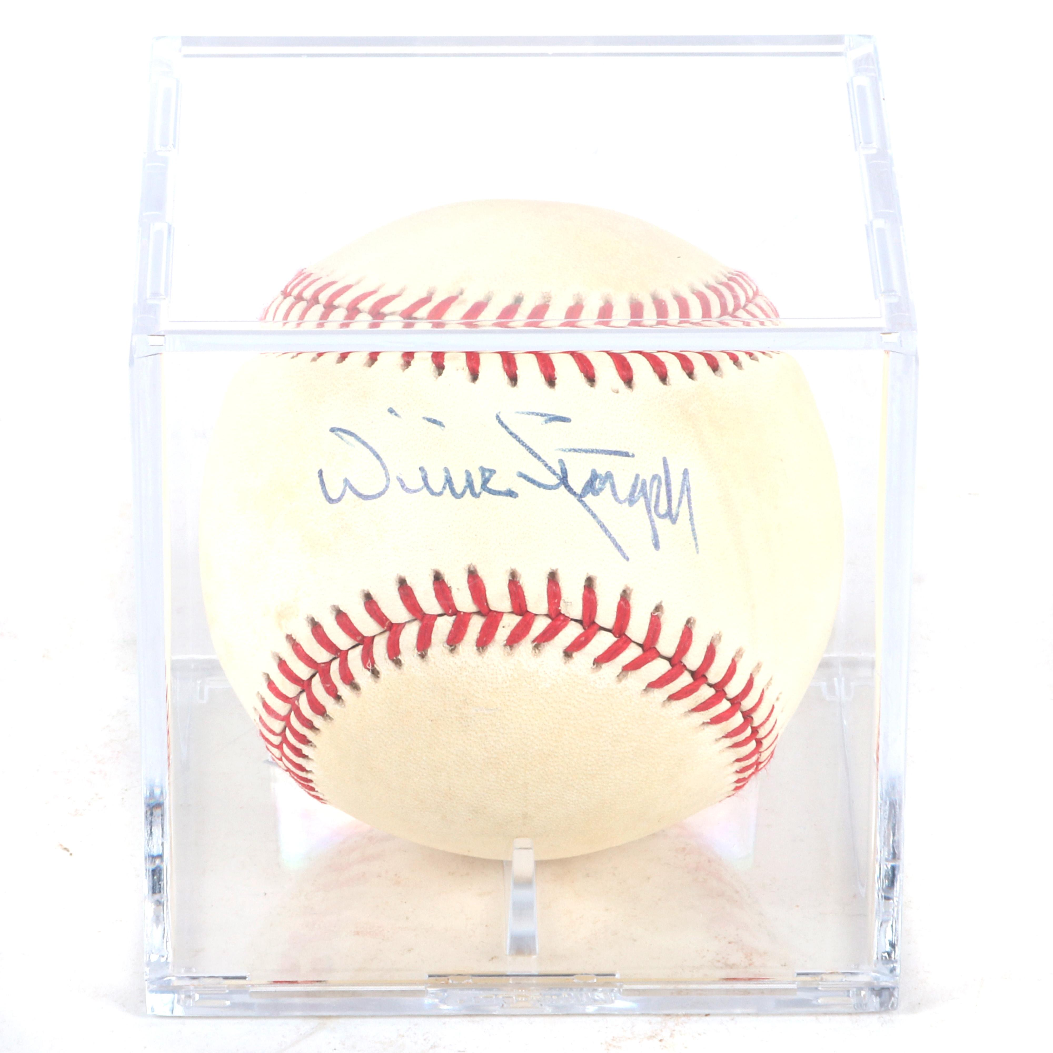 Willie Stargell Autographed Baseball