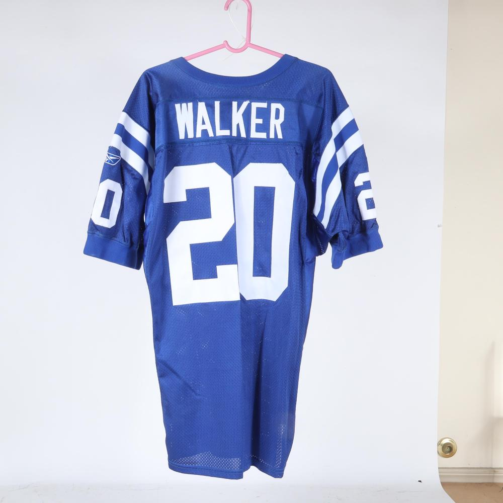 2003 Indianapolis Colts Joe Walker Game Used Jersey