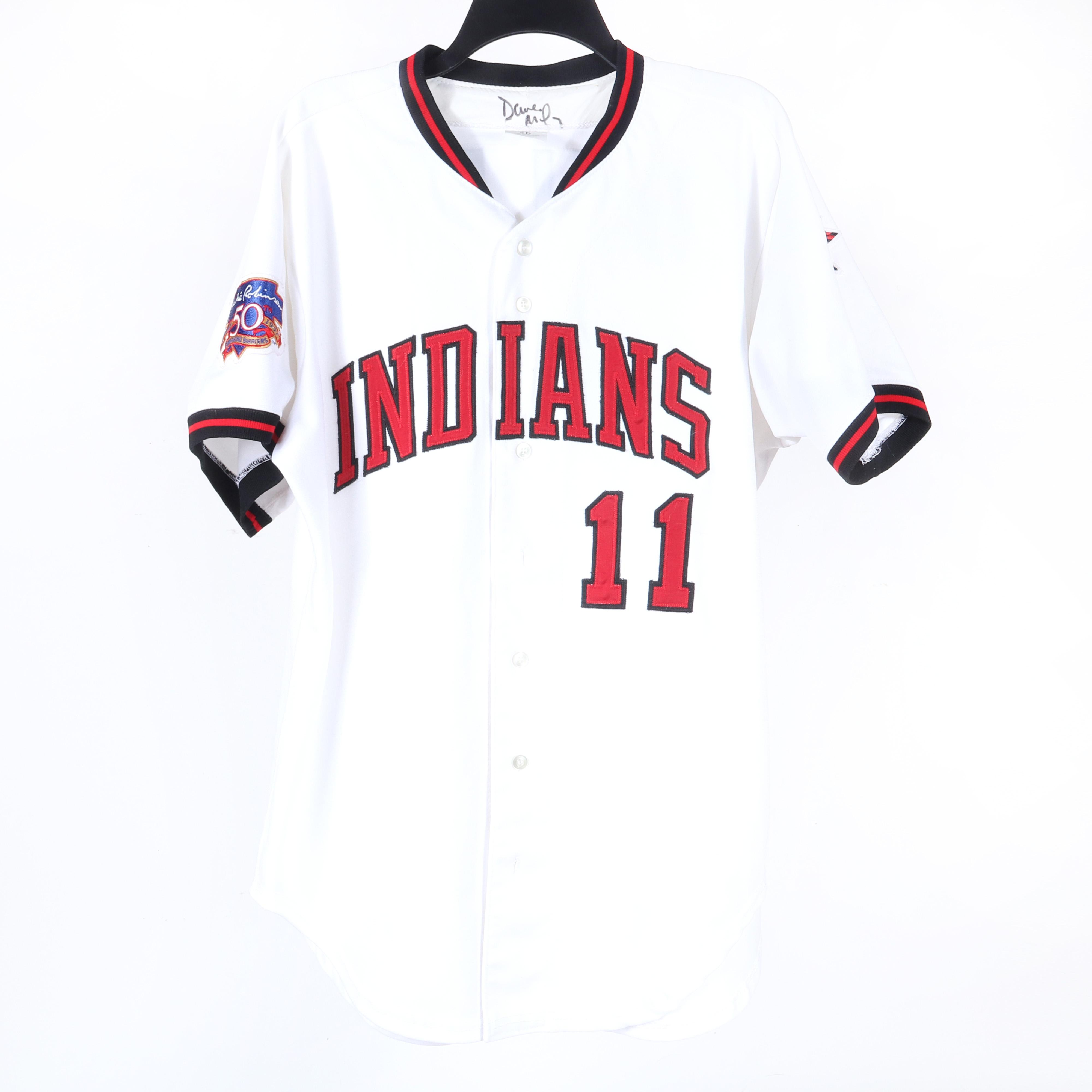 1997 Dave Miley Indianapolis Indians Game Used & Autographed Jersey