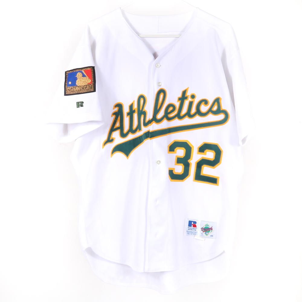 1994 Bobby Witt Oakland A's Game Used Jersey