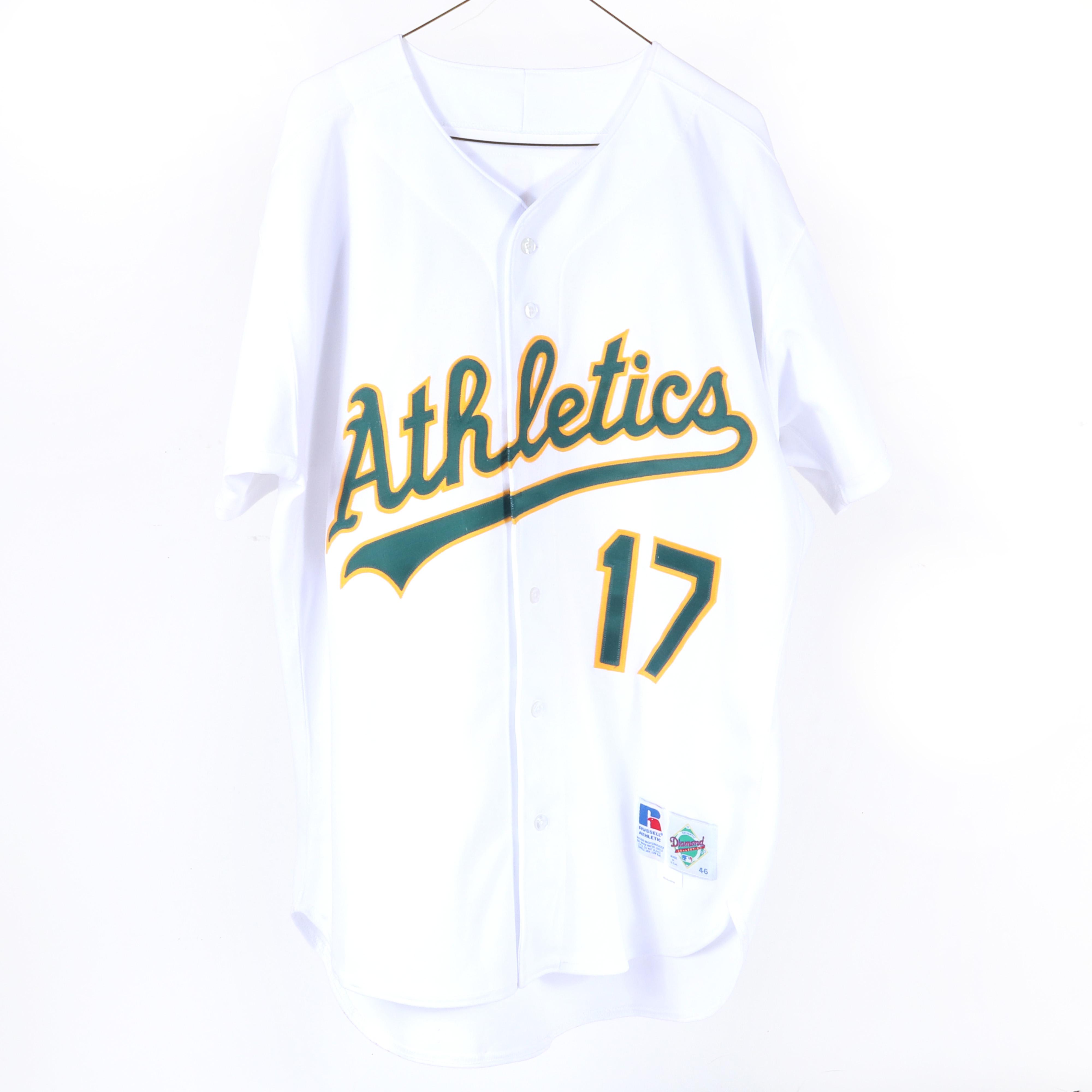 1995 Ron Darling Oakland A's Game Used & Autographed Jersey