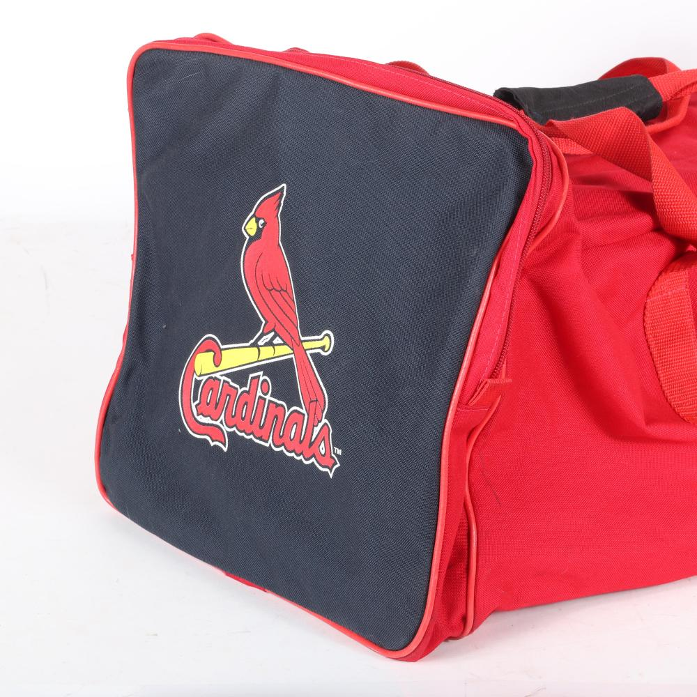 St. Louis Cardinals Chris Maloney Game Used Equipment Bag