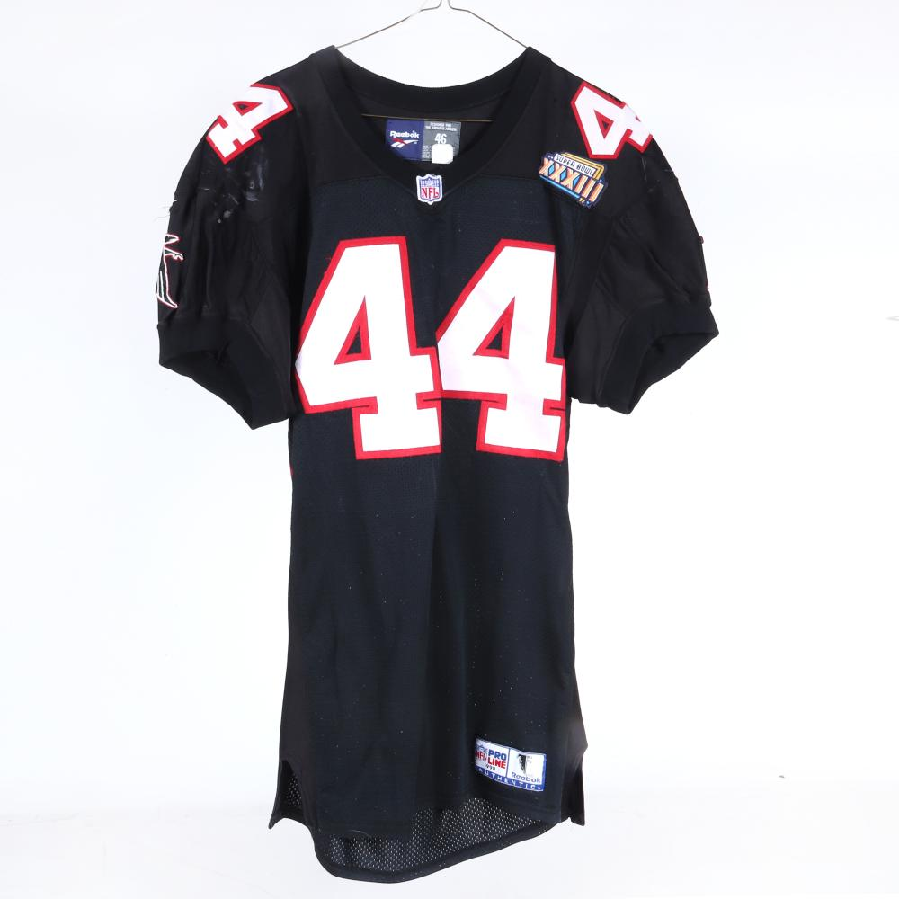 1998 Bob Christian Atlanta Falcons Super Bowl XXXIII Game Used Jersey