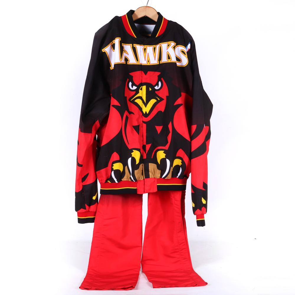 1996-97 Tyrone Corbin Atlanta Hawks Game Used Warm Up Suit