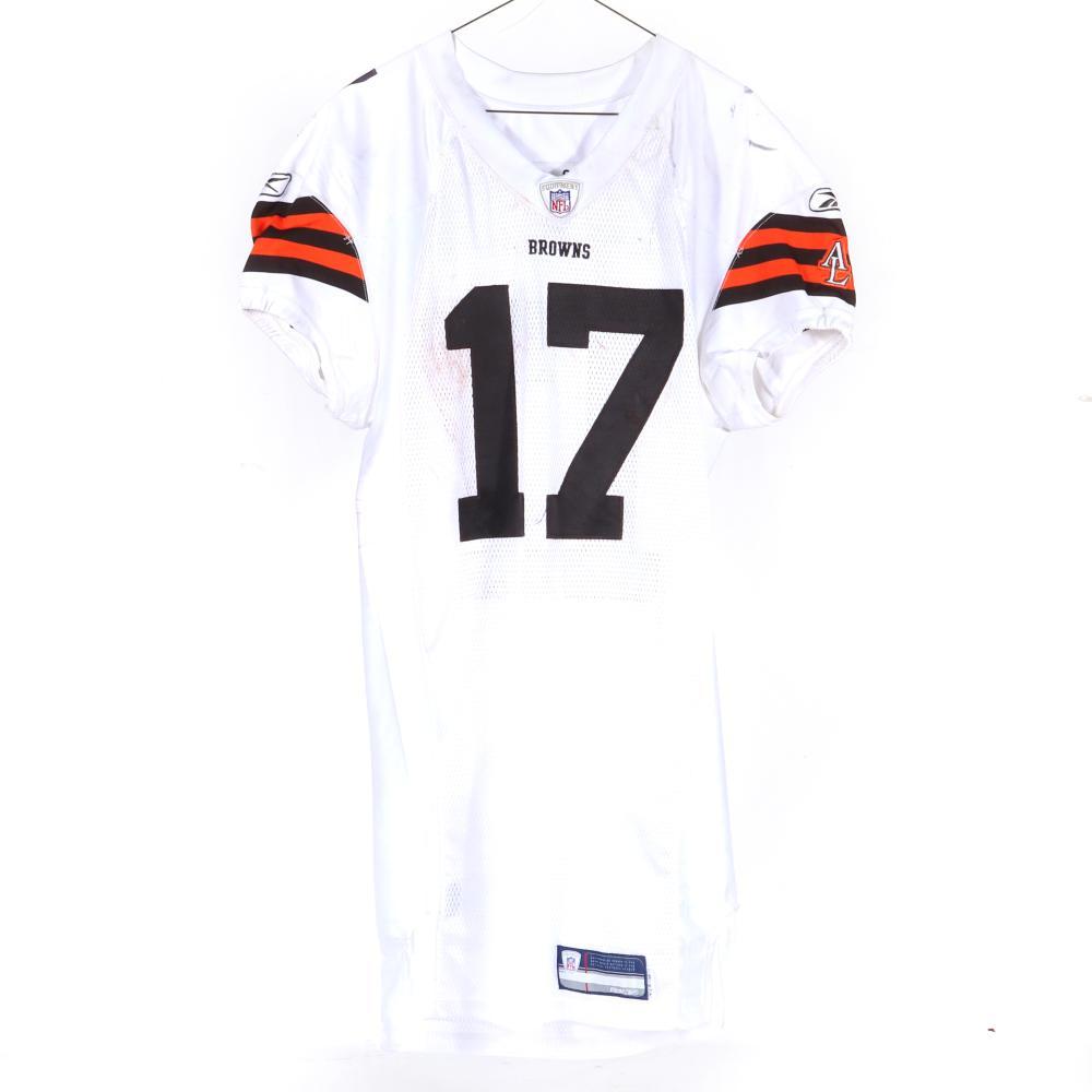 2007 Braylon Edwards Cleveland Browns Game Used Jersey