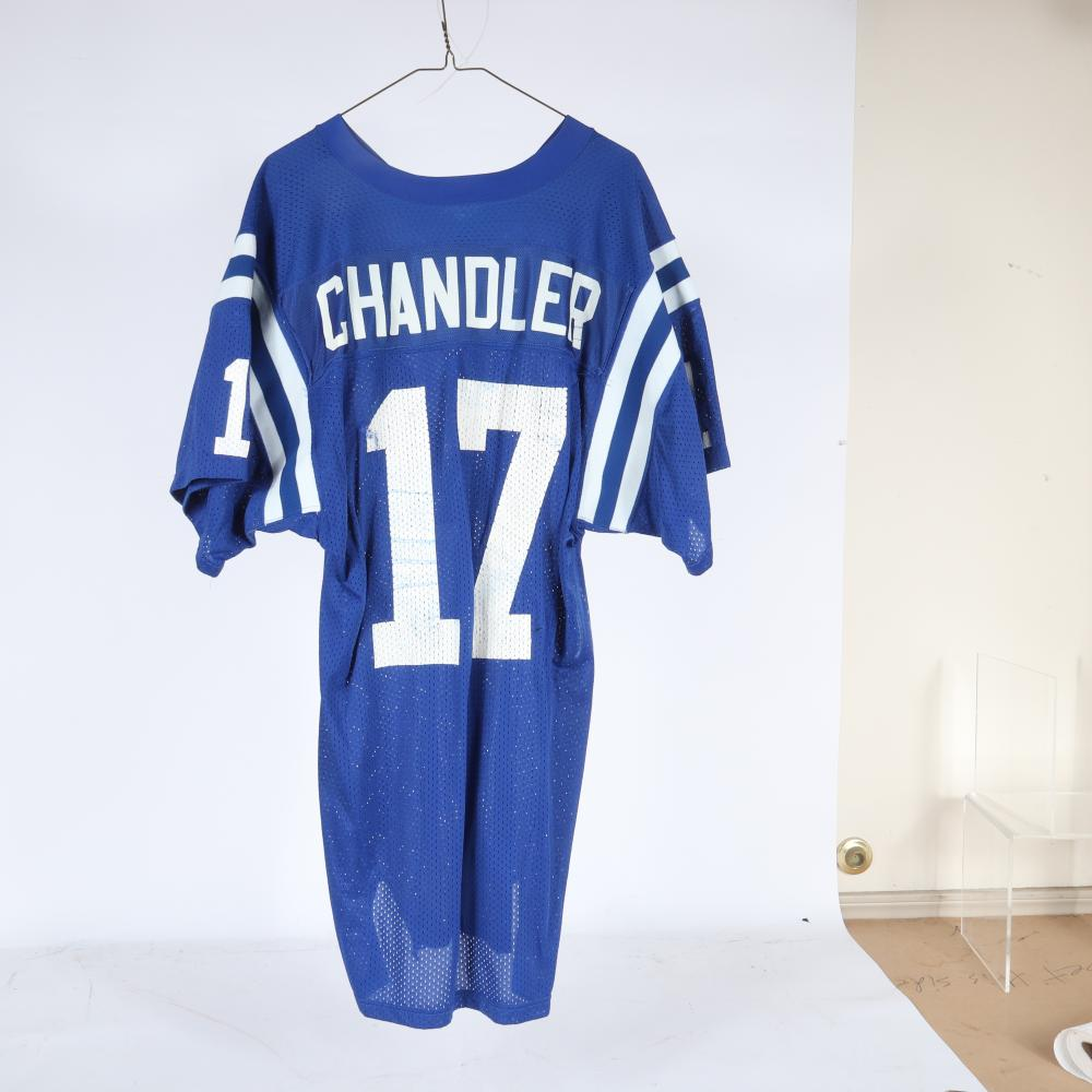 1988 Chris Chandler Indianapolis Colts Game Used Jersey