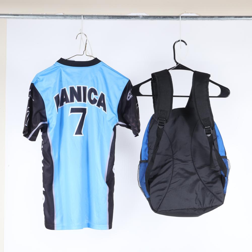 Danica Patrick Autographed Race Shirt & Backpack