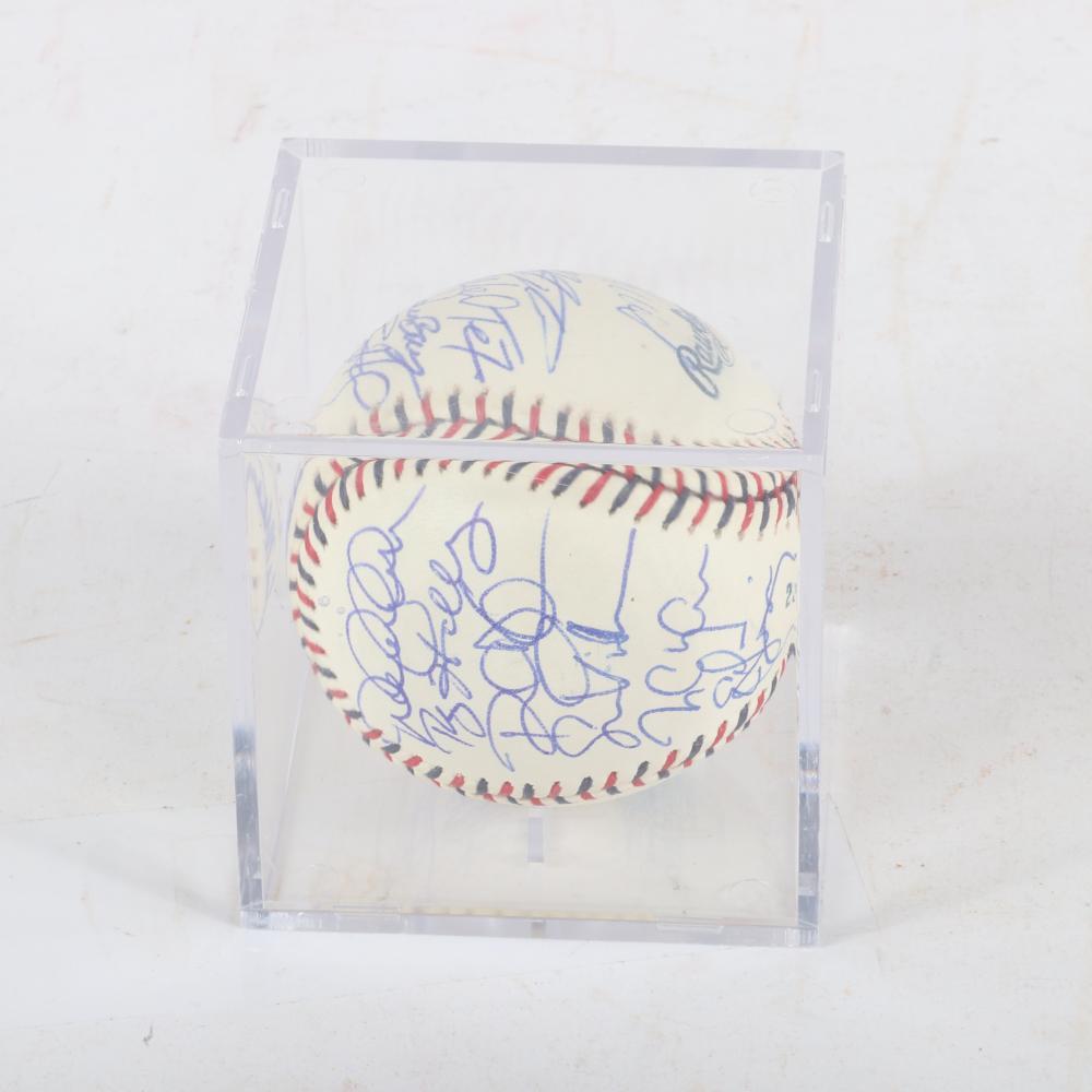 2003 MLB All Star Game Multi Signed Baseball