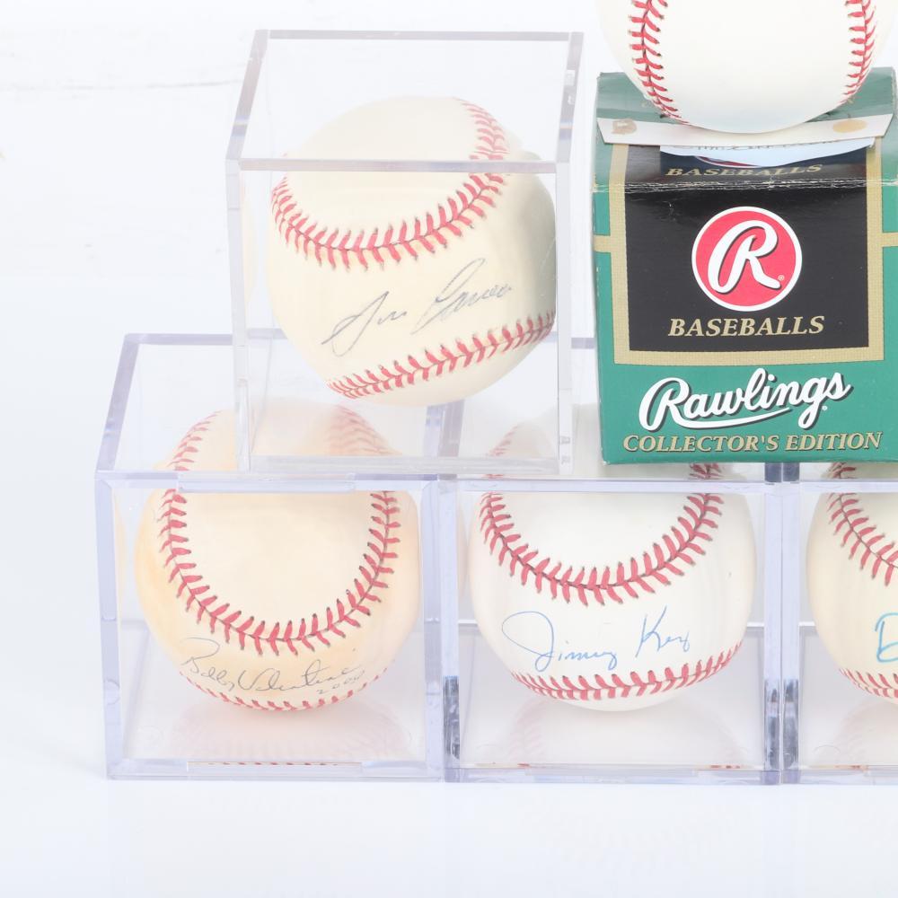 7 Autographed MLB Baseballs