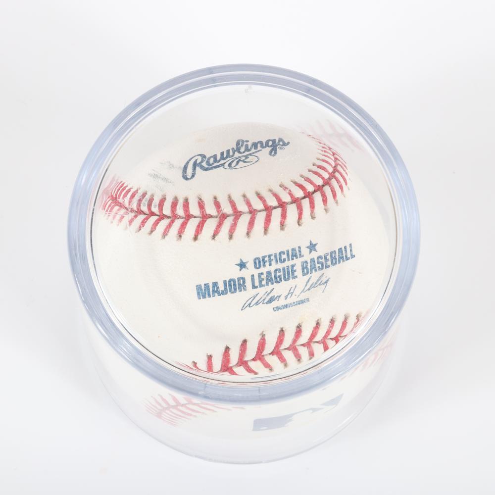 St. Louis Cardinals Greats Autographed OML Baseball, Pujols, Brock, Musial.
