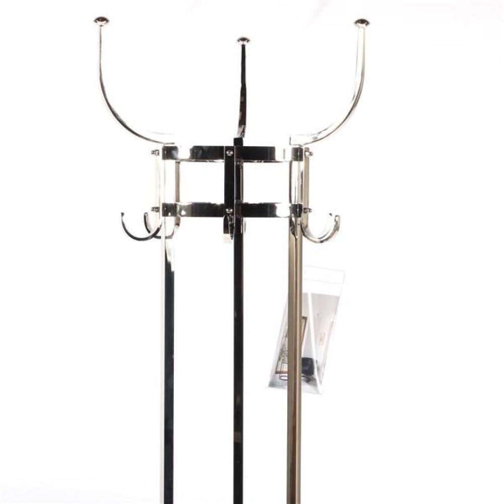 "ClassiCon 'Nymphenburg' coat rack designed by Otto Blumel. 71 1/2""H x 15 1/2""W x 15 1/2""D."