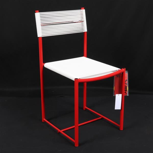 "Alias 'Spaghetti' children's chair designed by Giandomenico Belotti. 25""H x 12 1/2""W x 14"" D."
