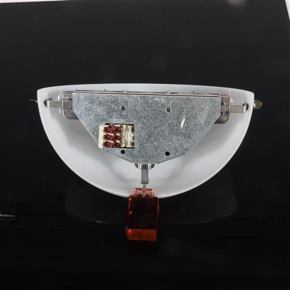 "Cassoni 'Victoria' Murano art glass wall light sconce. 8 1/2""H x 13""W."