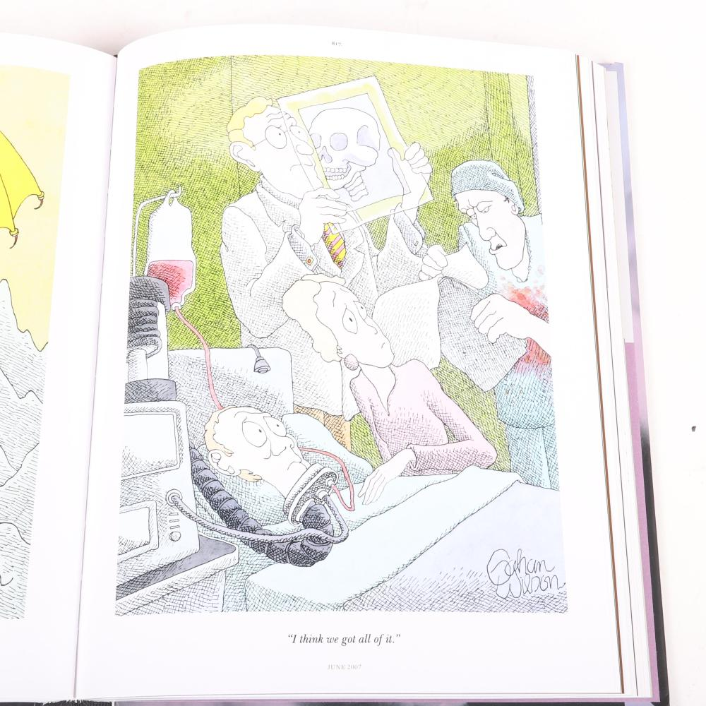 """Gahan Wilson 50 Years of Playboy Cartoons, Fantagraphics Books, Seattle, 2009. Three volumes in publisher's slipcase, as issued. 10 3/4""""H x 8 1/4""""W x 4""""D (boxed set)."""