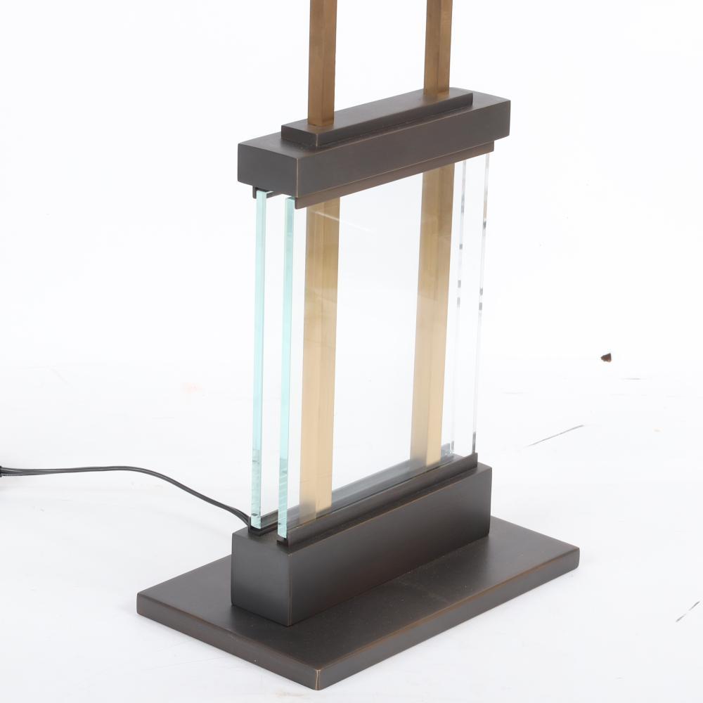 "Bill Sofield for Baker Duchamp table lamp 23 3/4""H x 15 3/4""W."