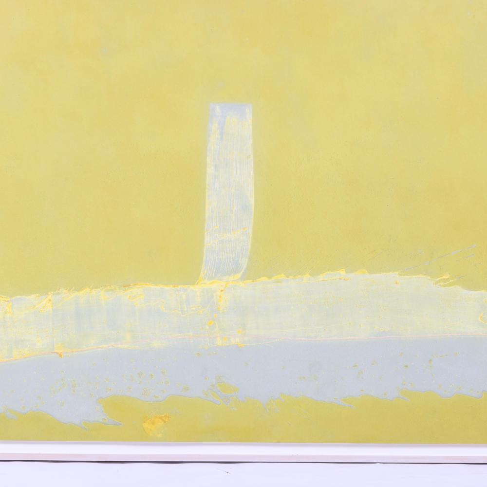 "Helen Frankenthaler, (American, 1928-2011), Hermes, 1989, mixografia print on handmade paper, 44""H x 92""W."