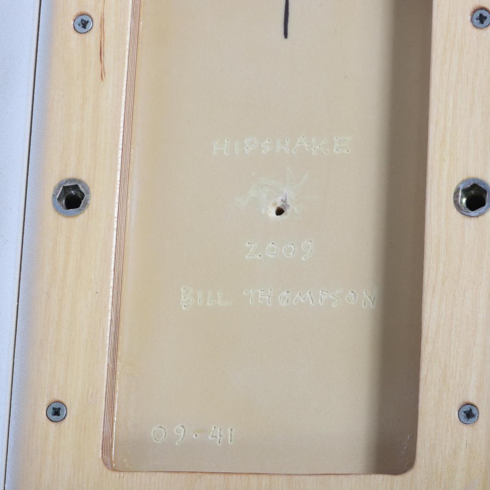 "Bill Thompson, (American, b.1957), Hipshake, 2009, acrylic urethane on polyurethane block, 20"" x 29"" x 4""."