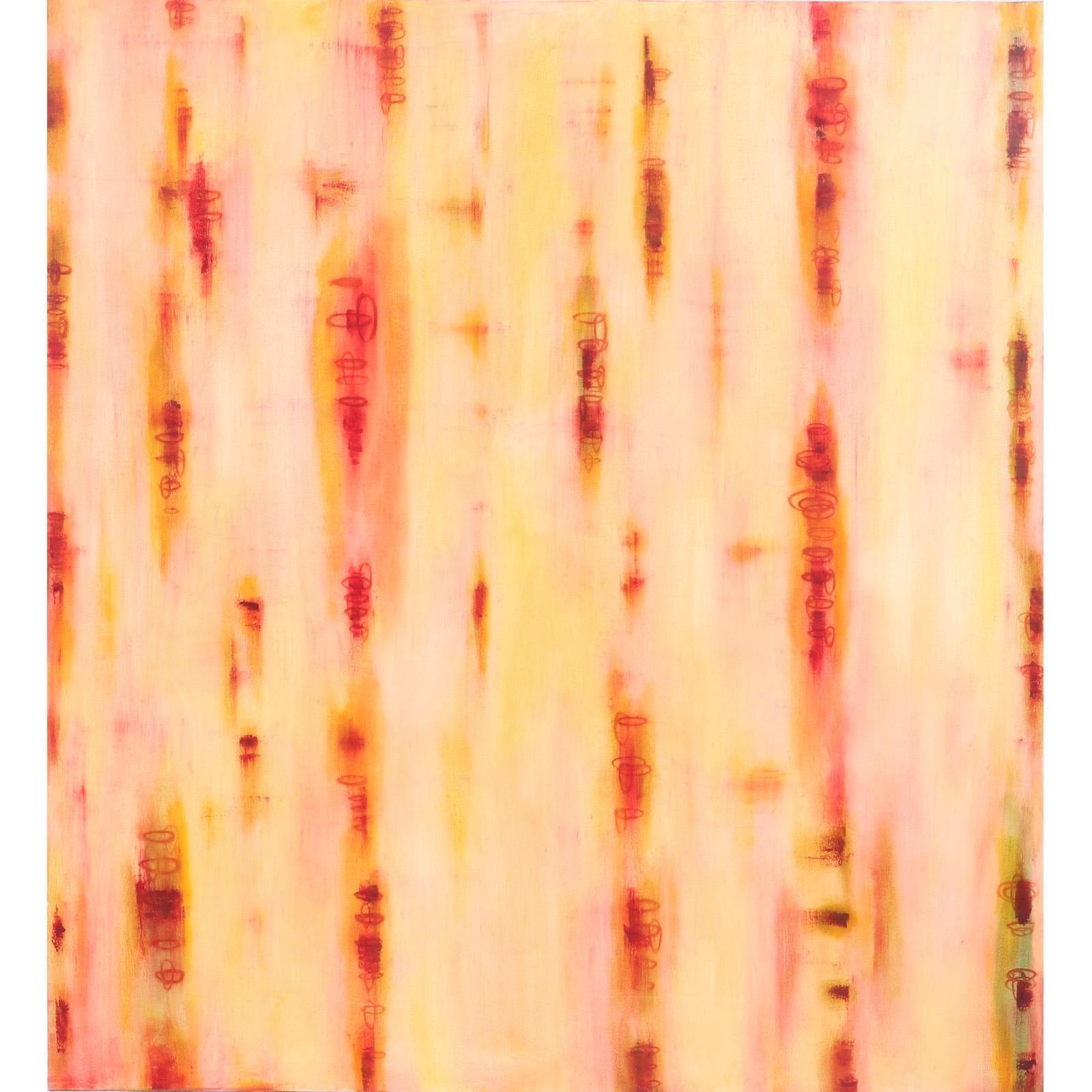 "Valerie Beller, (American, b.1965), Pirouette, 2000, oil on canvas, 60""H x 55""W."