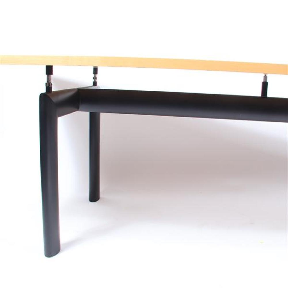 "Le Corbusier for Cassina LC6 dining / conference table. 28 1/2""H x 88 3/4""W x 33 1/2""D."