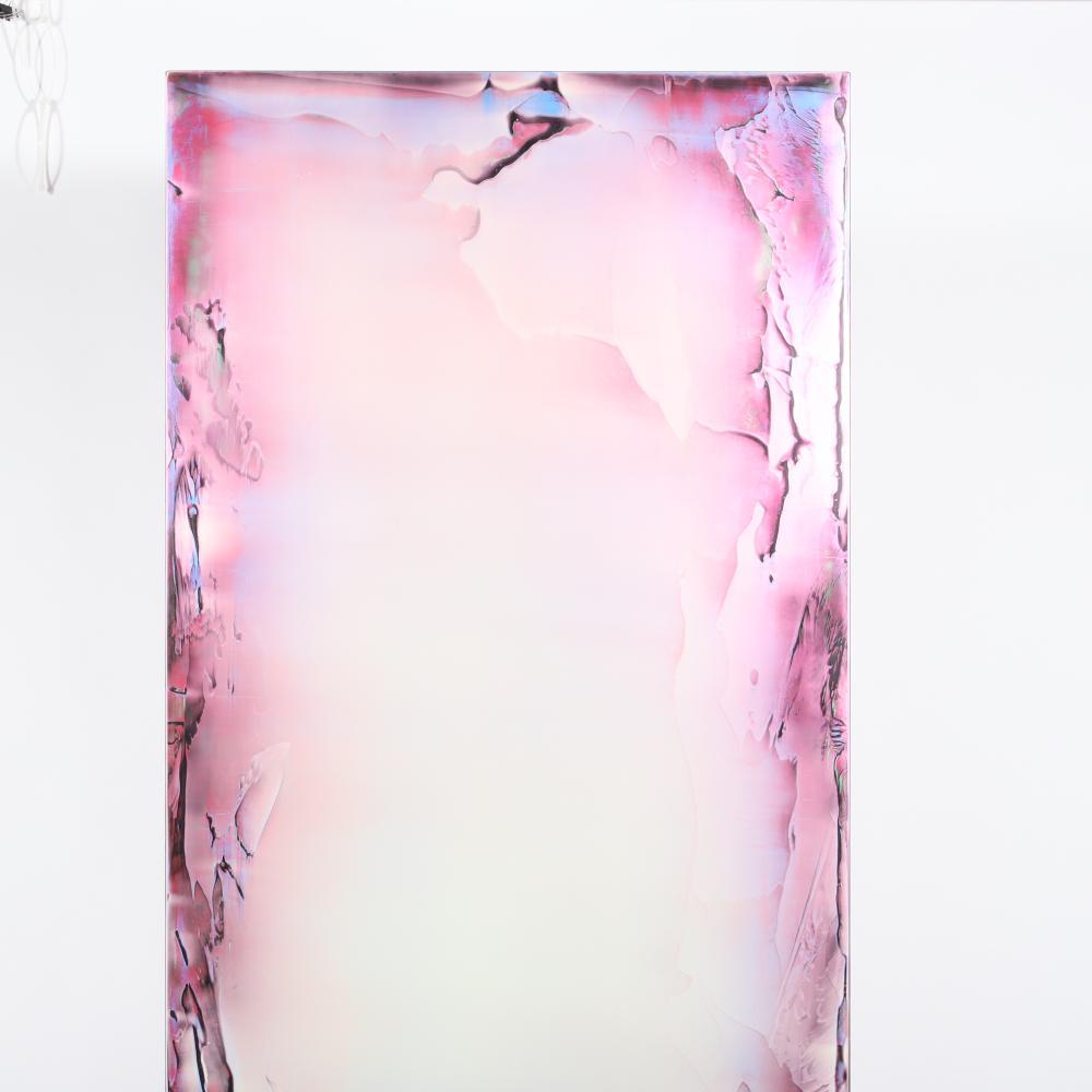 "Jimi Gleason, (American, b.1961), Gajin's Light, 2006, acrylic on canvas, 76""H x 30""W."