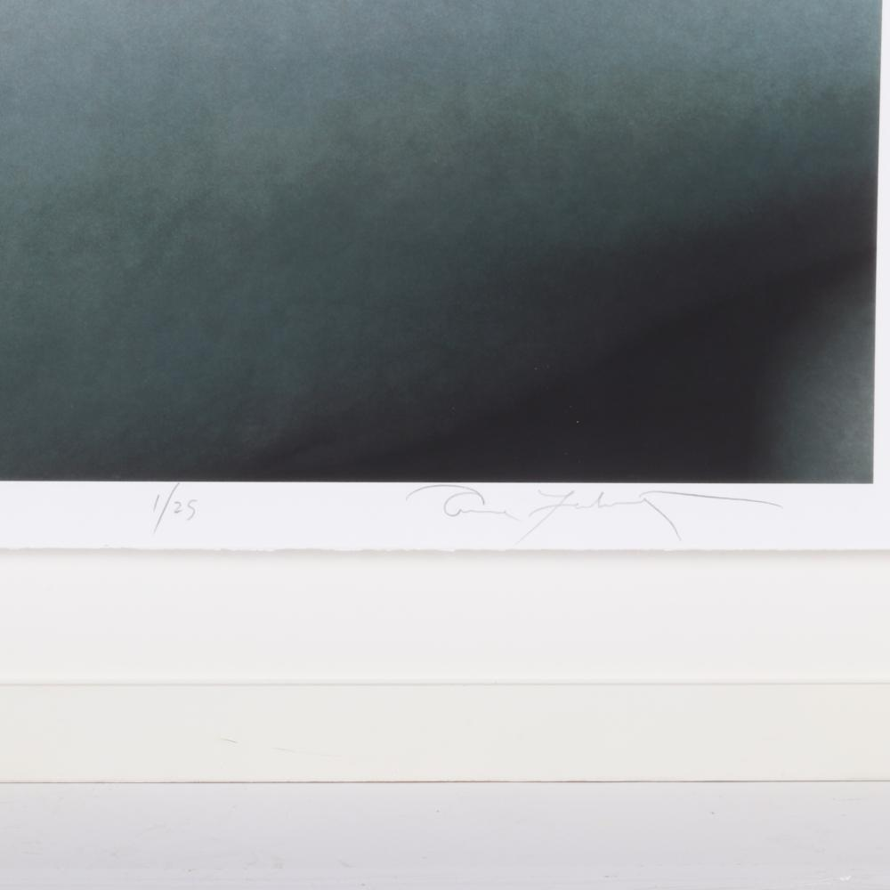 "Annie Leibovitz, (American, b.1949), Lauren Grant, 1999, original iris print photograph on Somerset Velvet watercolor paper, 42 1/2""H x 35""W (image), 51""H x 39""W (frame)."