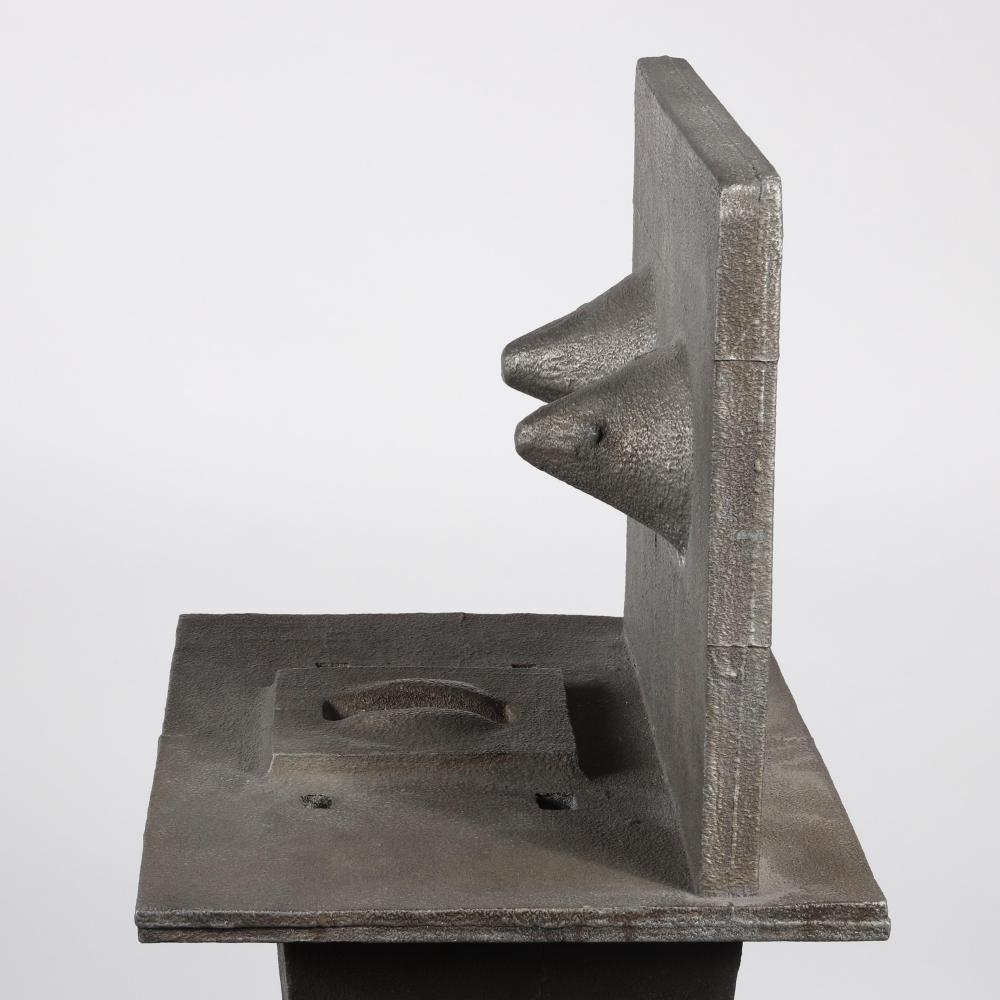 "Gary Freeman, (American, 1937-2014), Miss Congeniality, aluminum, 44"" H x 15""W"