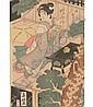 Katsukawa Shunko Japanese Woodblock Tea Ceremony