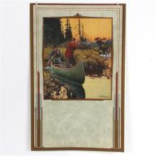 Philip R. Goodwin, (New York, 1881 - 1935), 'Surprised', lithograph calendar sheet