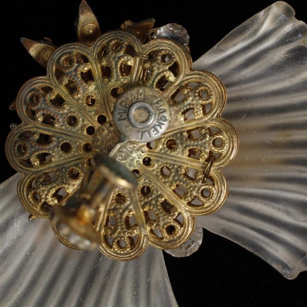 Miriam Haskell 3pc. Bracelet, Pin, & Clip on Earrings