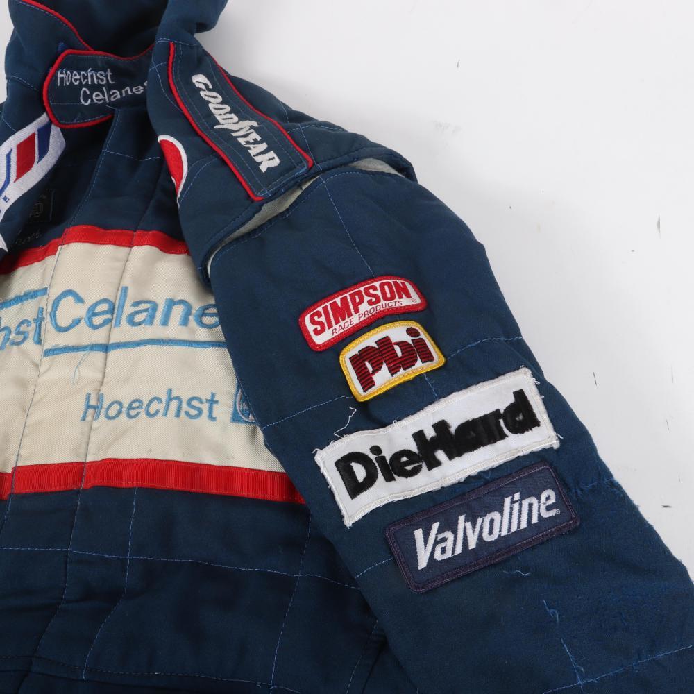 1990 Tero Palmroth Race Worn Suit.