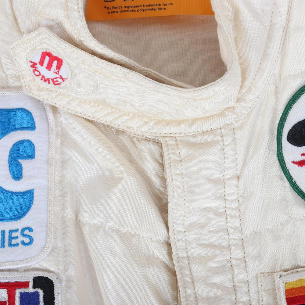 1983 Teo Fabi Indy 500 Race Worn Suit.