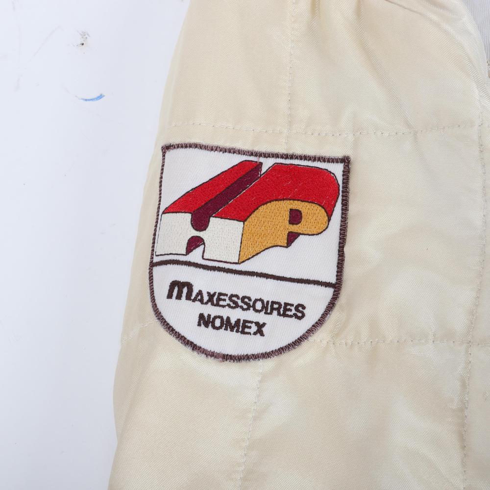 1983 Teo Fabi Indy 500 Race Worn Suit.