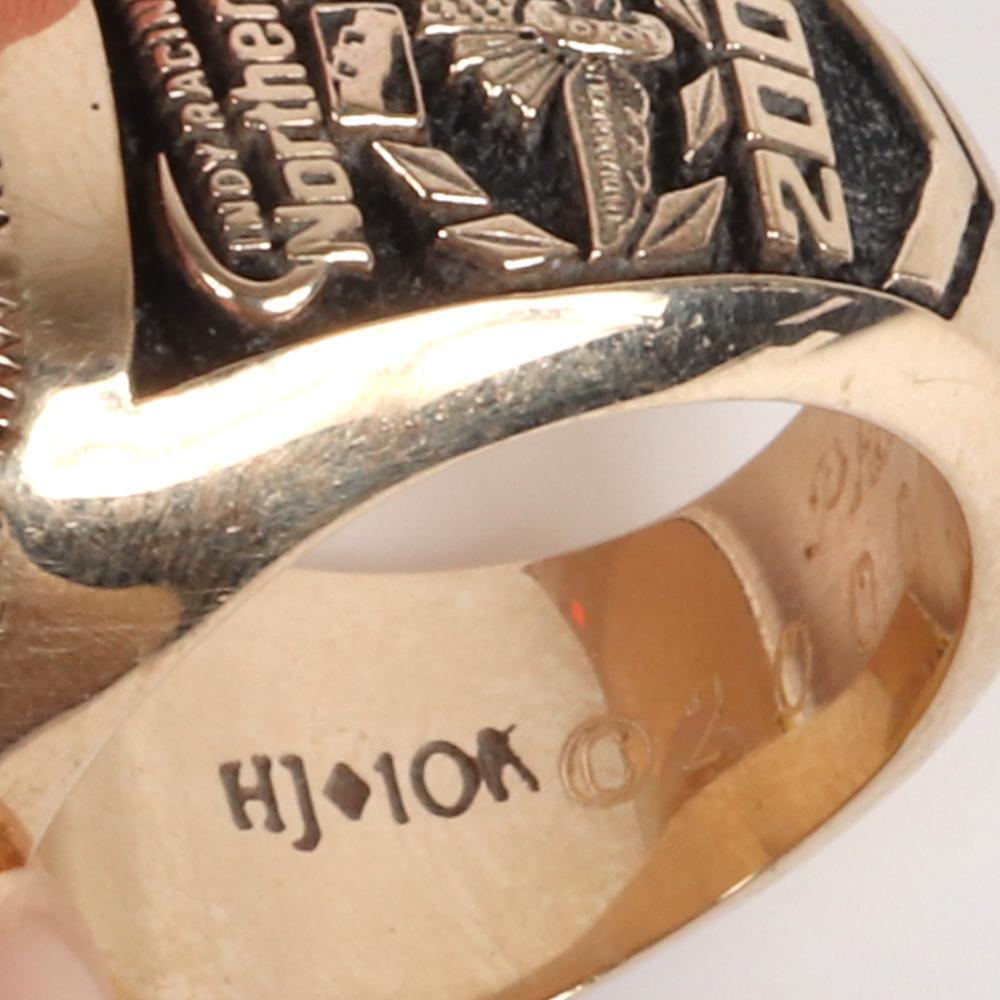2000 IRL Northern Lights Championship Ring