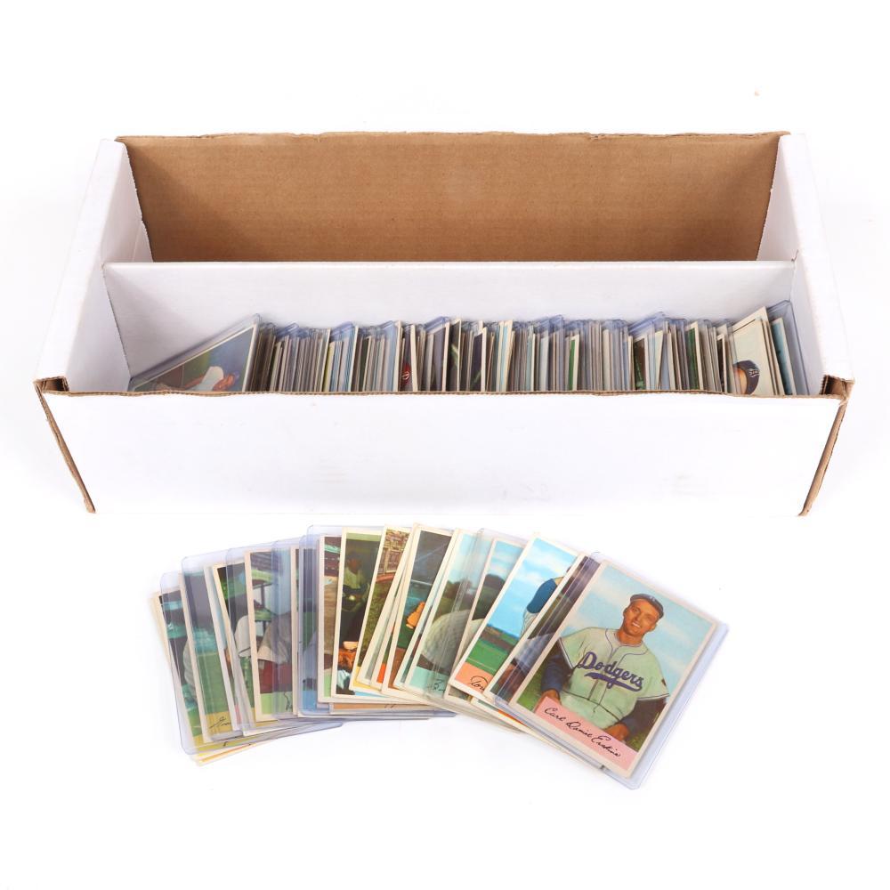 1954 Bowman Baseball Starter Set, 169/224 Plus 43 Duplicate Cards